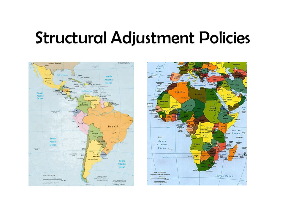 Structural Adjustment Policies