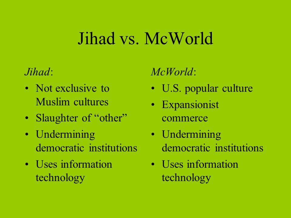 Jihad vs.