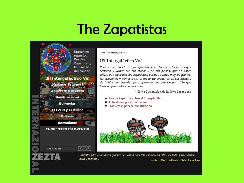 The Zapatistas