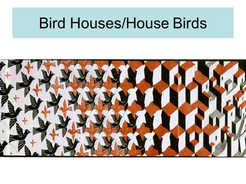 Bird Houses/House Birds