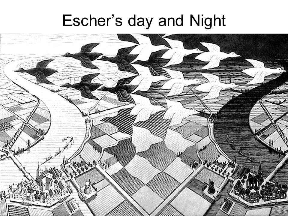 Escher's day and Night