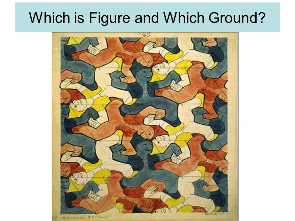 Which is Figure and Which Ground