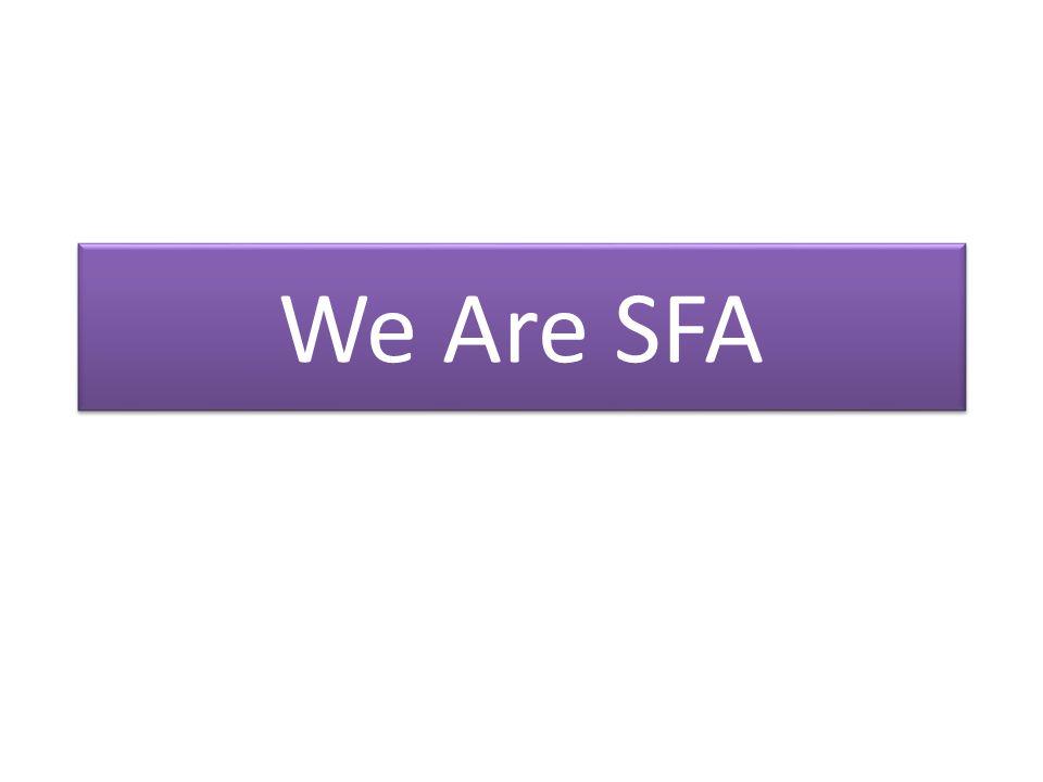 We Are SFA