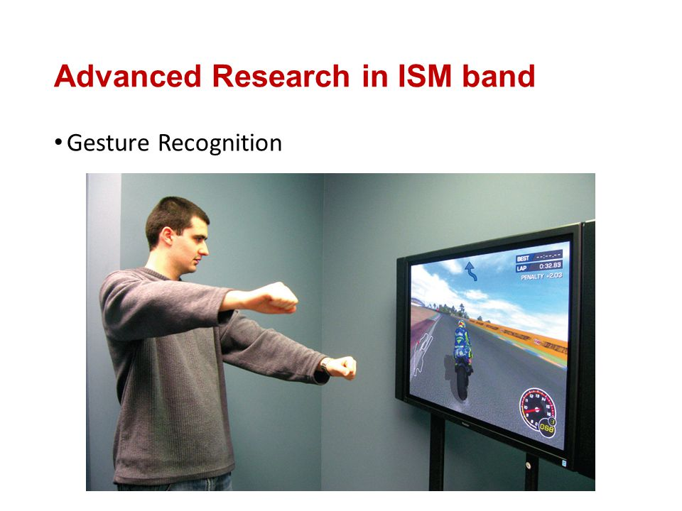 Advanced Research in ISM band Gesture Recognition