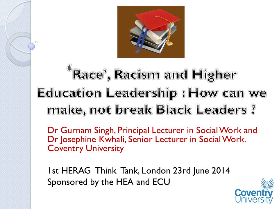 Dr Gurnam Singh, Principal Lecturer in Social Work and Dr Josephine Kwhali, Senior Lecturer in Social Work.