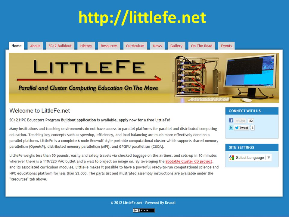 7 http://littlefe.net