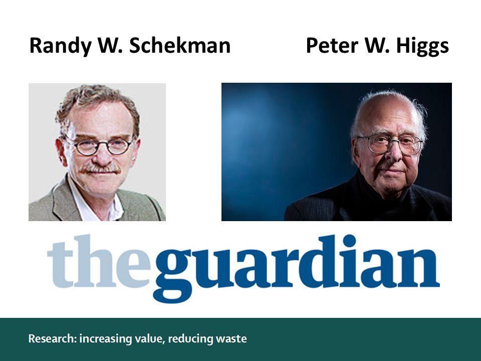 Randy W. SchekmanPeter W. Higgs sdf