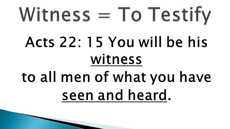Work, Worship, Witness, Work, Word
