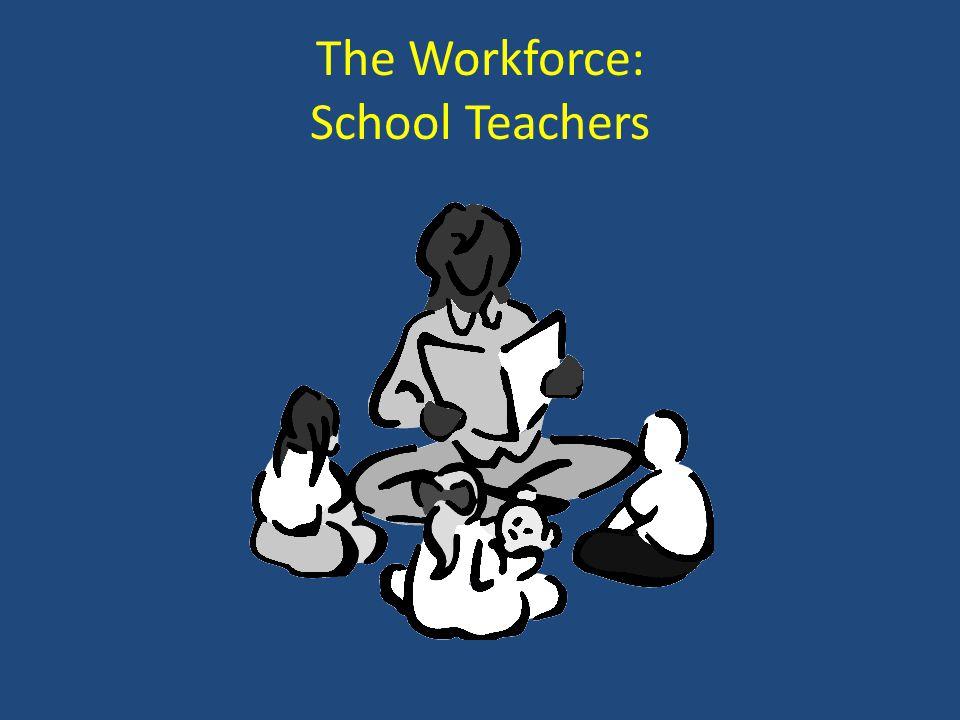 The Workforce: School Teachers