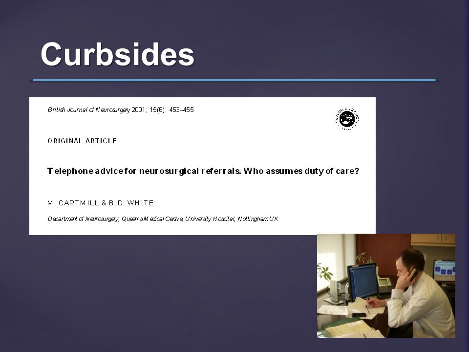 Curbsides
