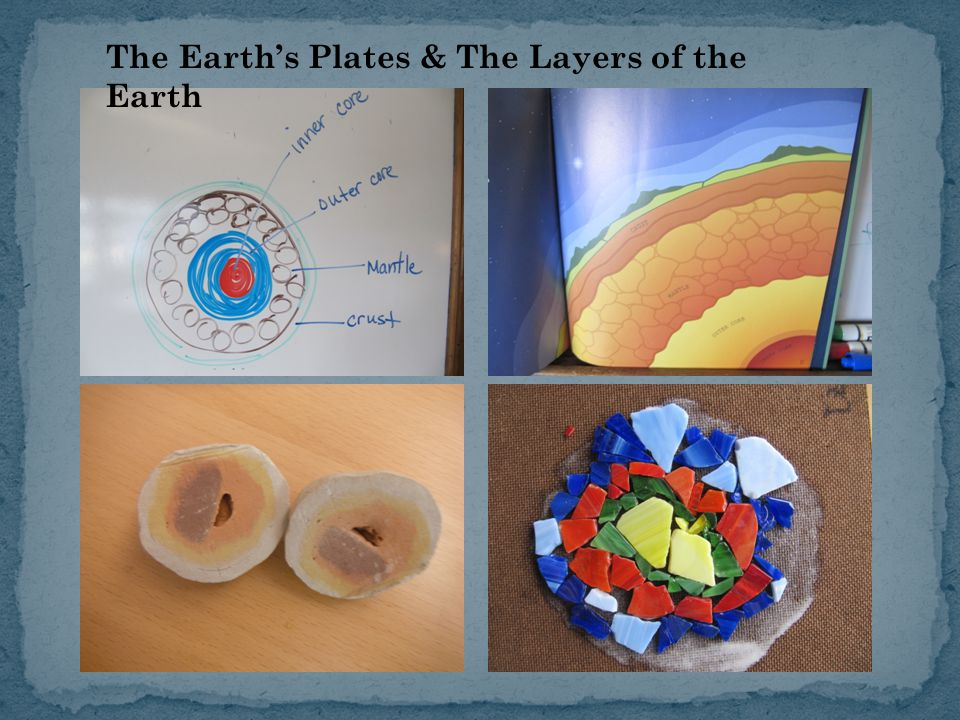 The Earth's Plates & The Layers of the Earth