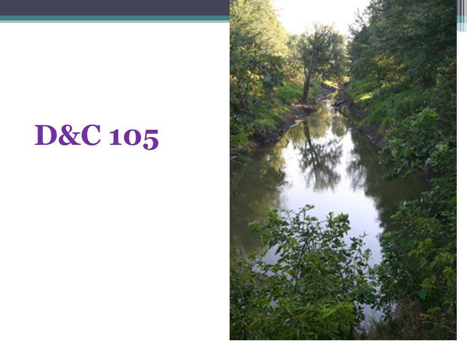 D&C 105