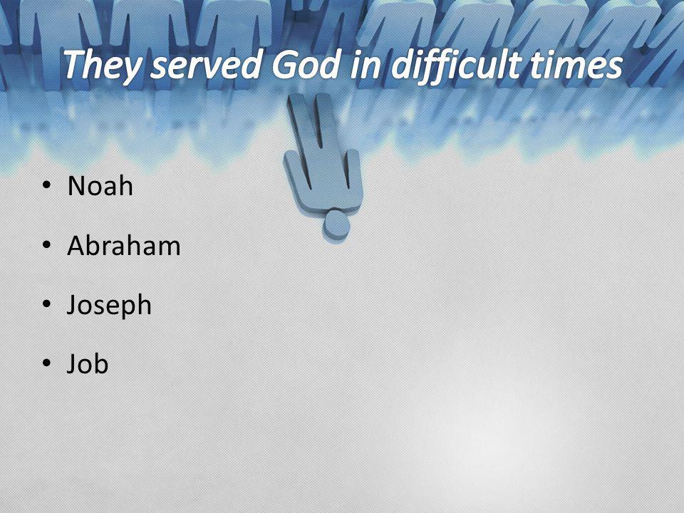 Noah Abraham Joseph Job