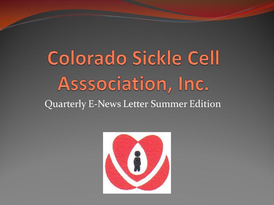 Quarterly E-News Letter Summer Edition