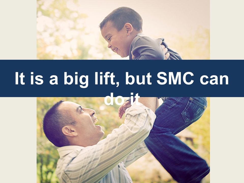 It is a big lift, but SMC can do it