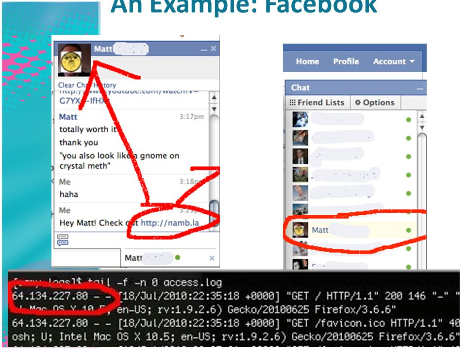 An Example: Facebook