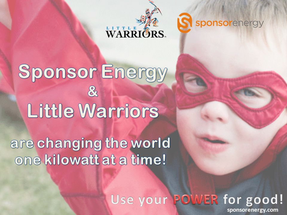 We are a new power company that donates HALF of our profits on your electricity usage to local charities We believe that companies can make a profit AND provide social benefits to our communities sponsorenergy.com