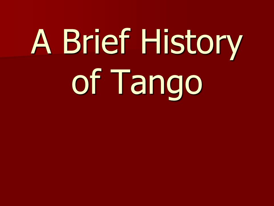Epoca de Oro (Golden Age) 1930-1950 (Roughly) 1930-1950 (Roughly) When someone says they dance Argentine Tango , this is what they mean When someone says they dance Argentine Tango , this is what they mean Orquesta Tipica: 4 Bandos, 4 Violins, Bass, Piano and a Singer.