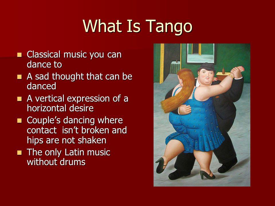 Micro-Tango: Beat