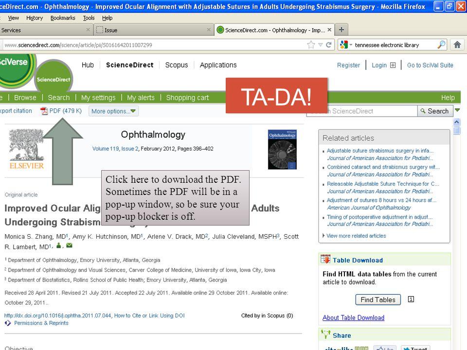 TA-DA. Click here to download the PDF.