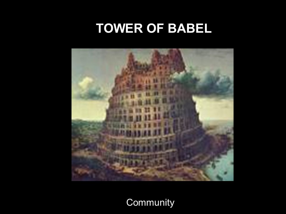 TOWER OF BABEL Community