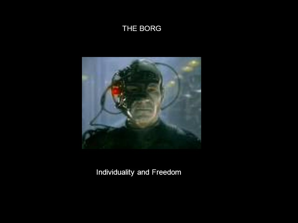 Individuality and Freedom THE BORG