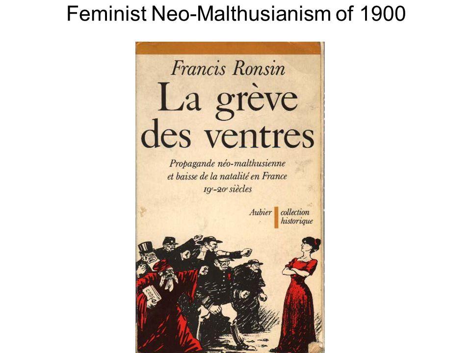 Feminist Neo-Malthusianism of 1900