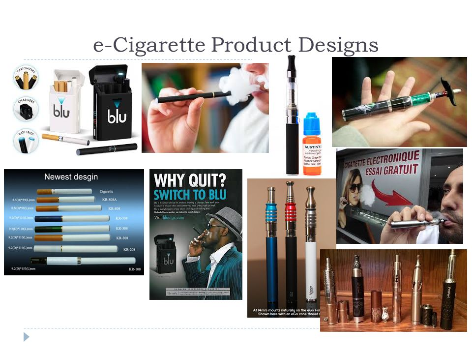 e-Cigarette Product Designs