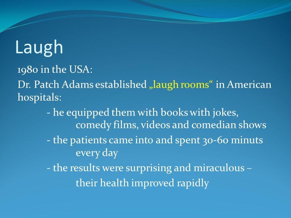 Laugh 1980 in the USA: Dr.