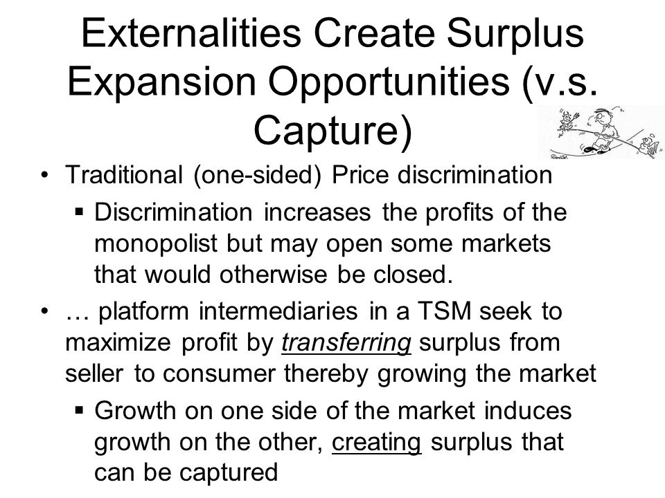 Externalities Create Surplus Expansion Opportunities (v.s.