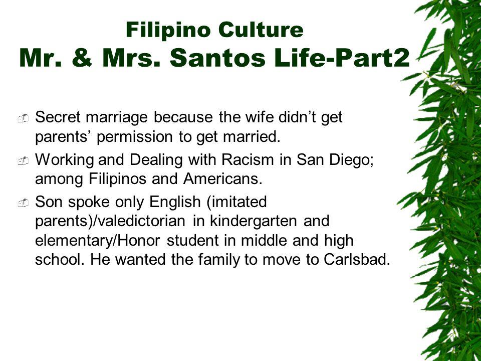Filipino Culture Mr. & Mrs.