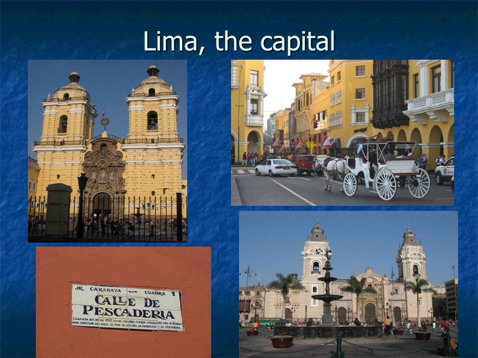 Lima, the capital