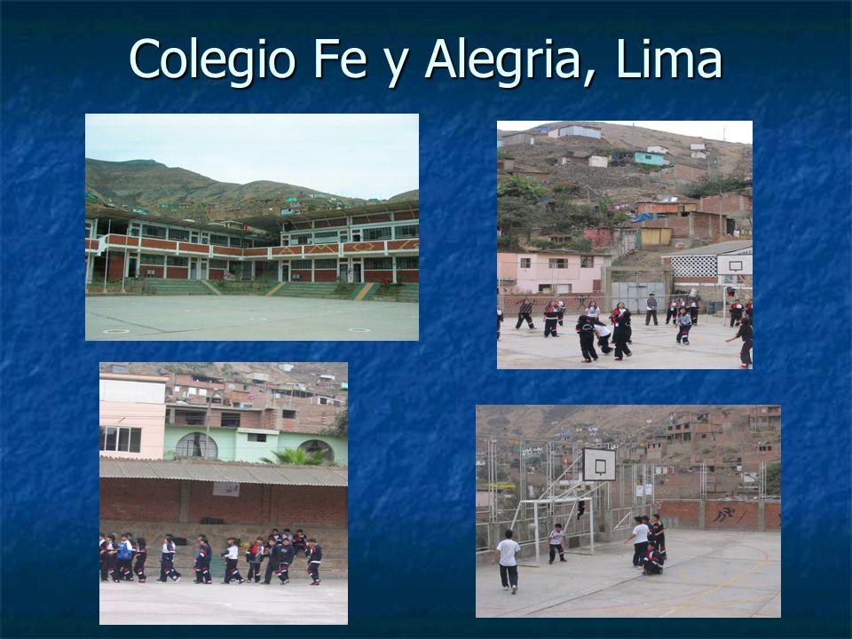Colegio Fe y Alegria, Lima