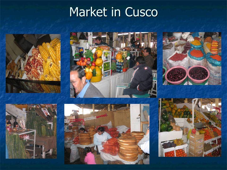 Market in Cusco