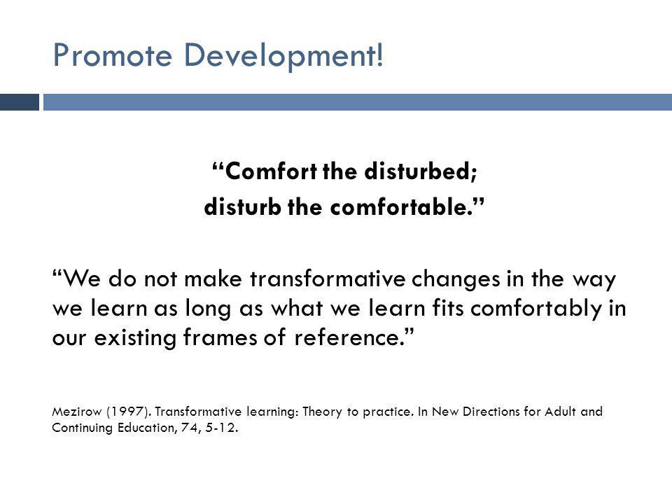 Promote Development.