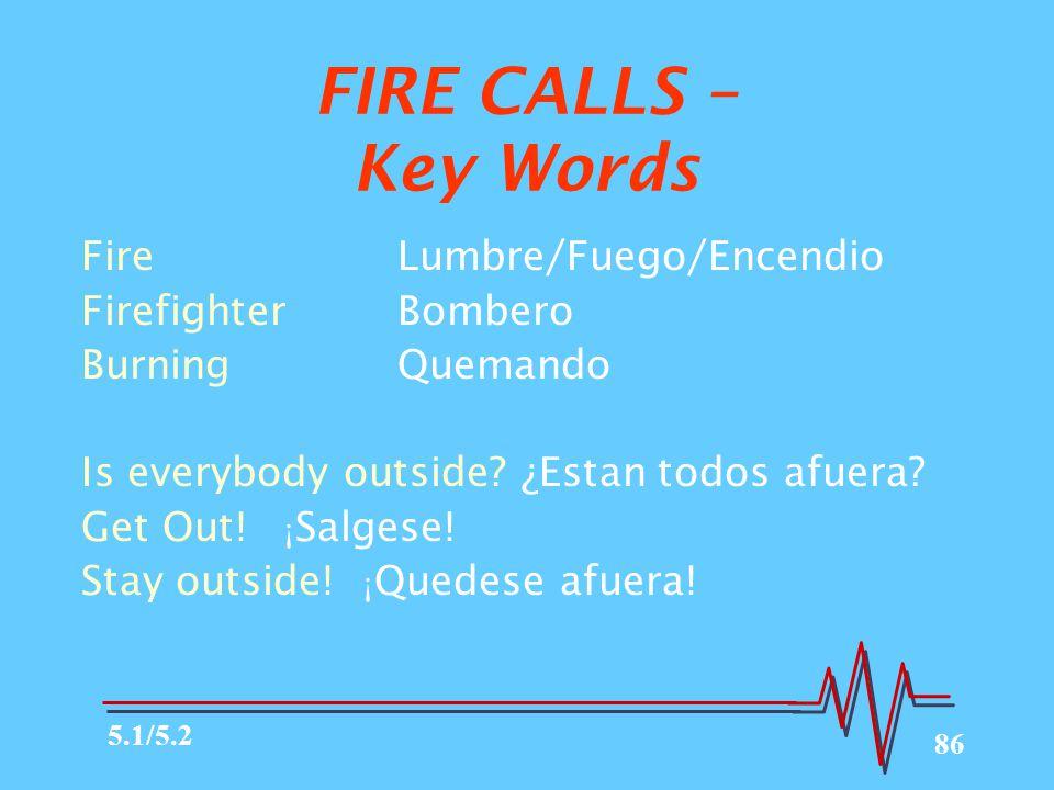 86 FireLumbre/Fuego/Encendio FirefighterBombero BurningQuemando Is everybody outside.