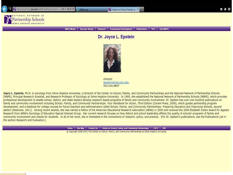 Joyce L. Epstein, Ph.D.