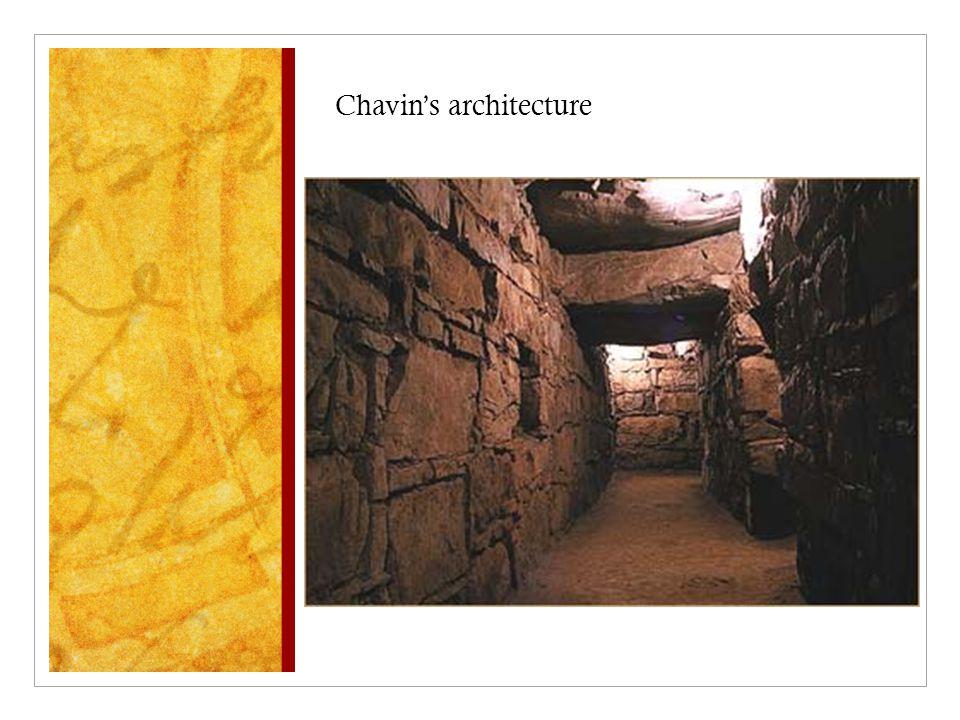 Chavin's architecture