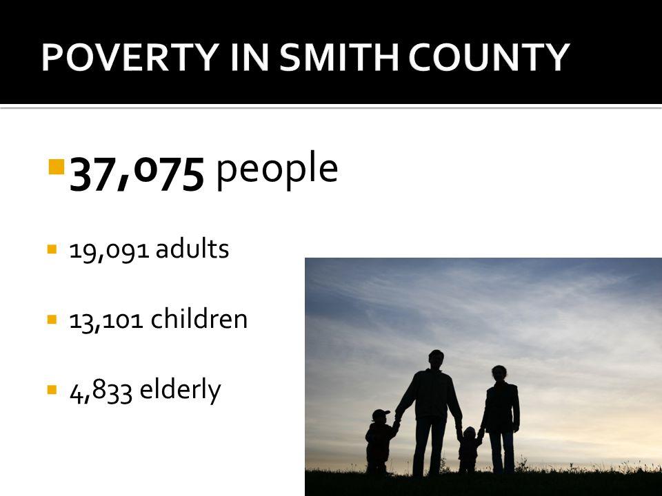  37,075 people  19,091 adults  13,101 children  4,833 elderly
