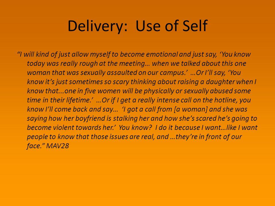 III. Enacting Bystander Behavior