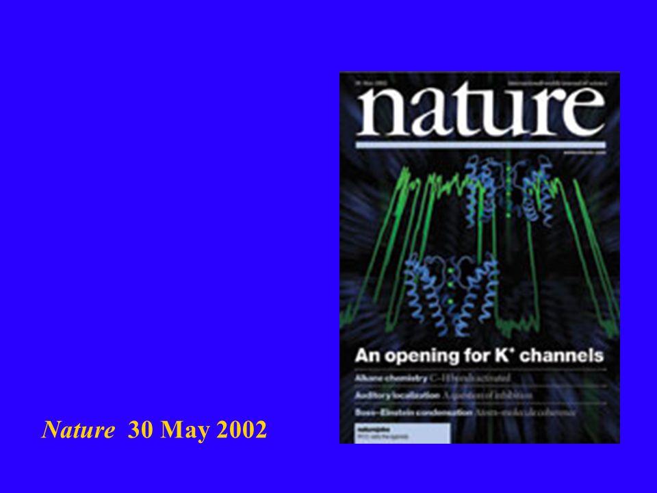 Nature 30 May 2002