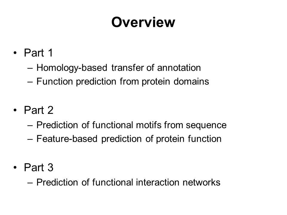 Function prediction from protein domains Lars Juhl Jensen EMBL Heidelberg