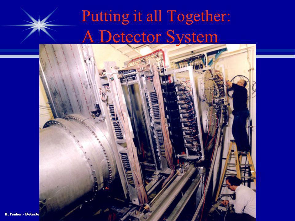 H. Fenker - Detectors Putting it all Together: A Detector System