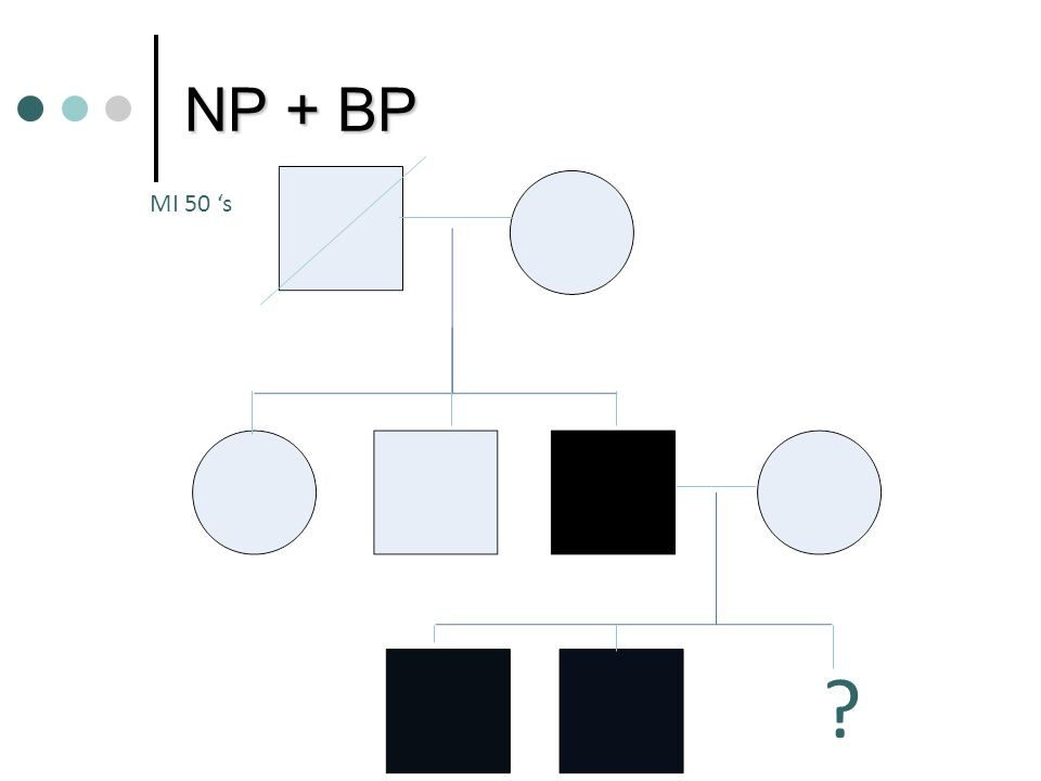 NP + BP MI 50 's