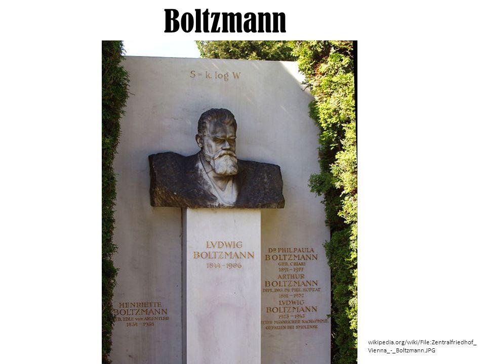 Boltzmann wikipedia.org/wiki/File:Zentralfriedhof_ Vienna_-_Boltzmann.JPG
