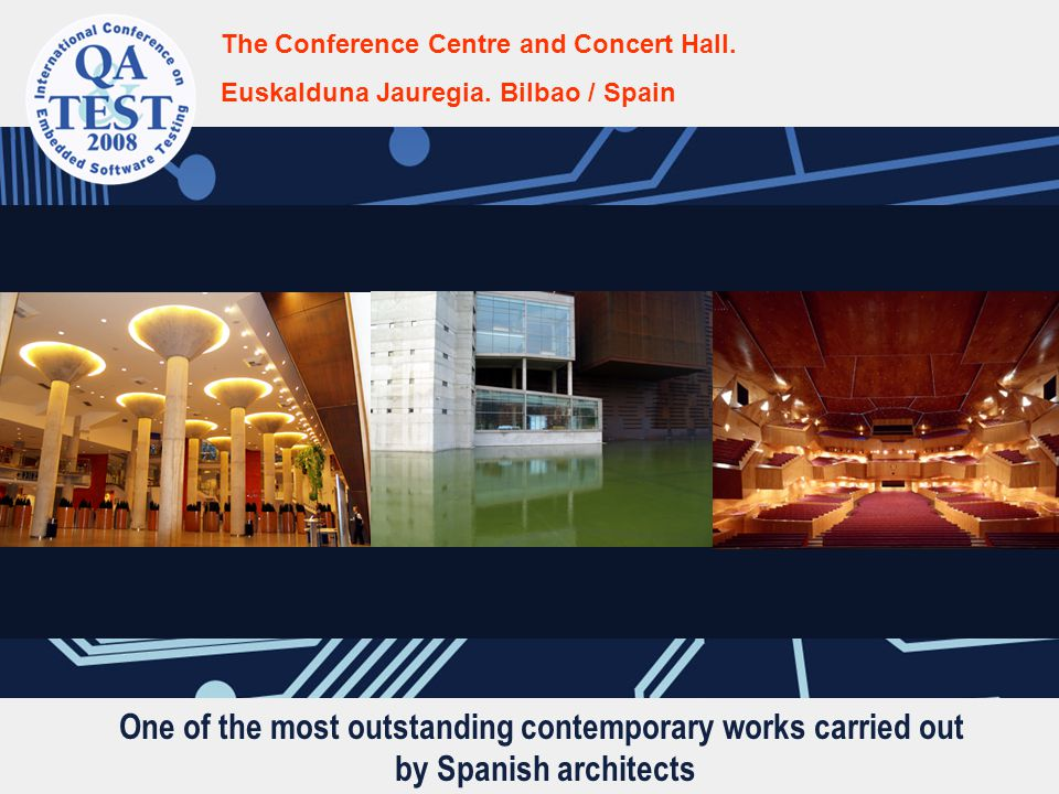 One of the most outstanding contemporary works carried out by Spanish architects The Conference Centre and Concert Hall. Euskalduna Jauregia. Bilbao /