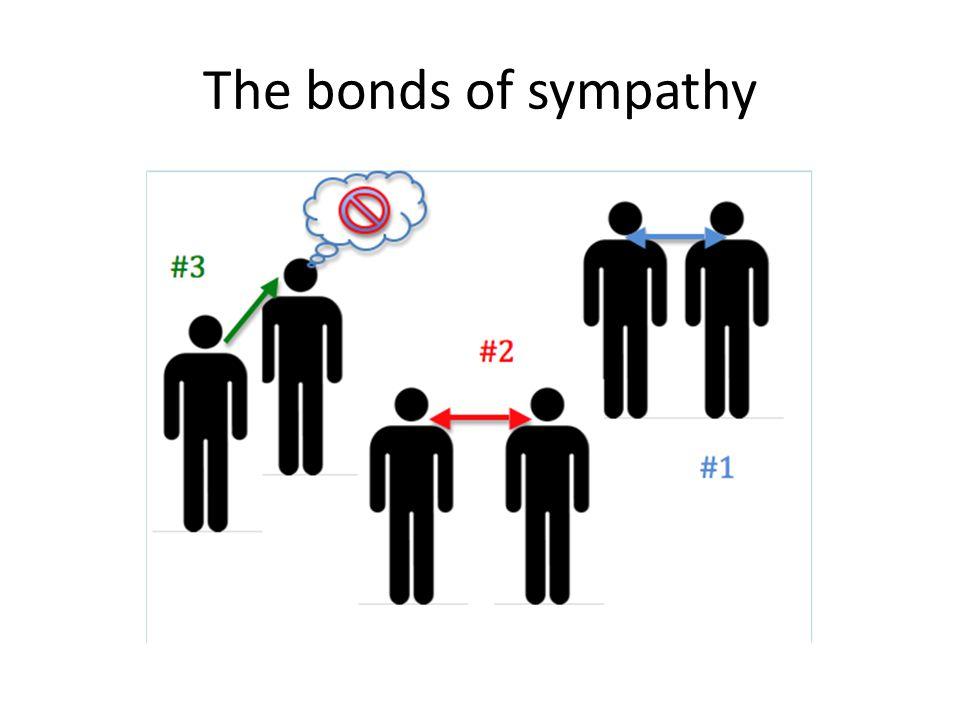 The bonds of sympathy