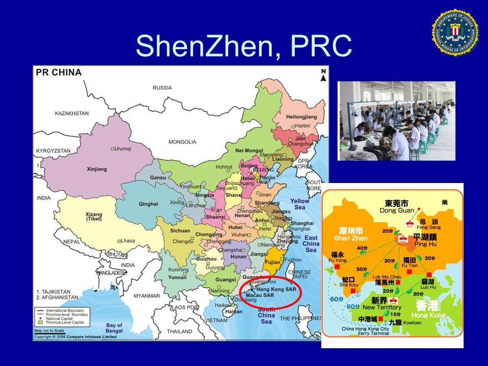 ShenZhen, PRC
