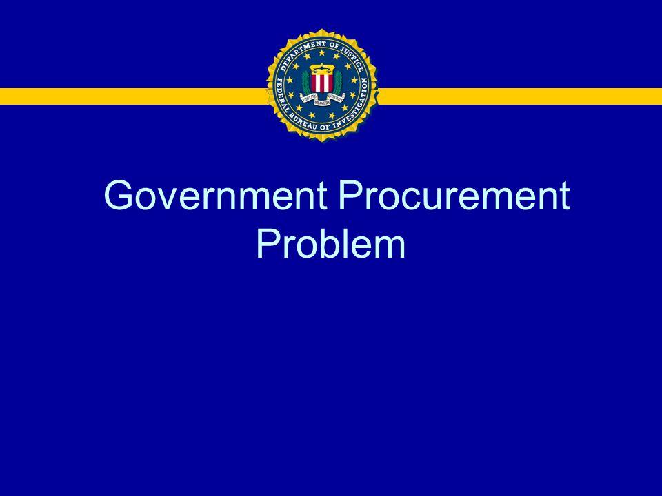 Government Procurement Problem