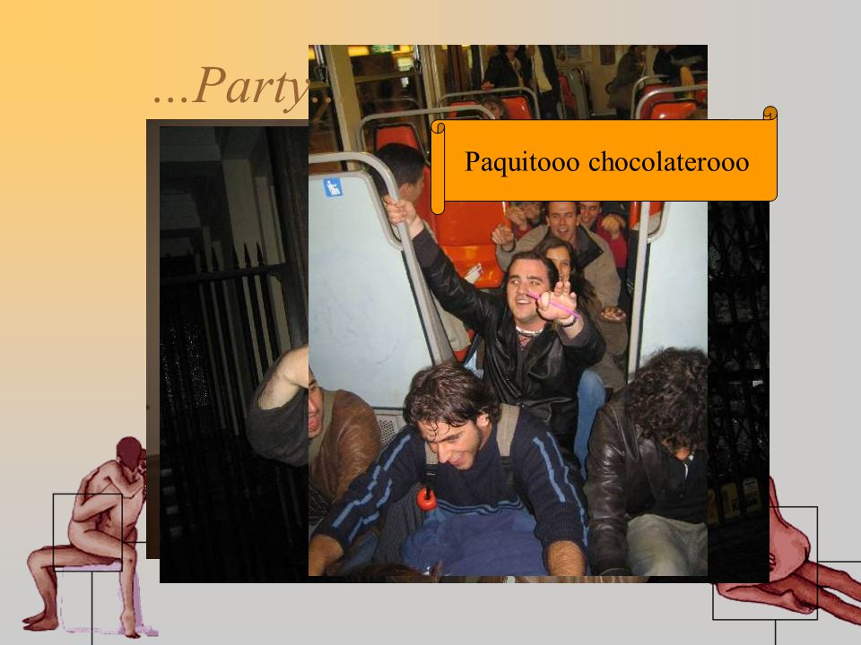 Destellos de lunaaaaaa!!!...Party... Paquitooo chocolaterooo